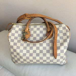 Louis Vuitton Speedy 30 & Vachetta Crossbody Strap